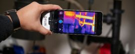 Tercera generación de cámaras termográficas FLIR ONE para smartphones