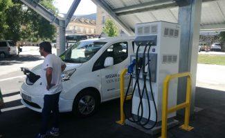 Primera electrolinera solar y de carga rápida de España