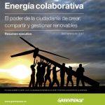 """La disposición hacia la generación colaborativa podría contrarrestar el poder de """"compañías contaminantes"""", dice GP"""