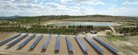 Solaer construye una de las primeras plantas fotovoltaicas sin subvención a tarifa de Europa