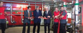Veolia inaugura en Móstoles el District Heating más grande de España