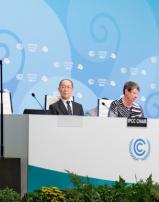 """Espinosa en la COP23: """"Nunca nos hemos reunido con tanta sensación de urgencia"""""""