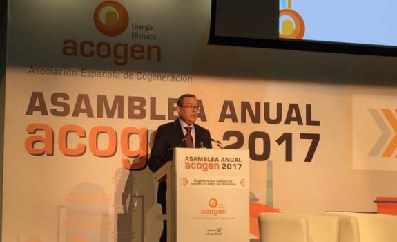 El Ministerio comparte la necesidad de un marco estable para la cogeneración