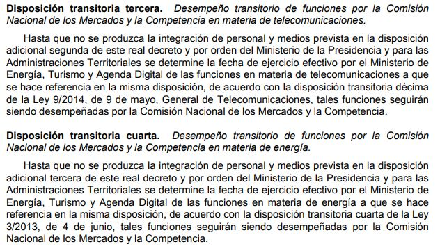 Real Decreto 903/2017