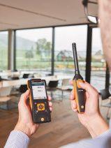 Nuevo instrumento para medición de climatización portátil con sondas inalámbricas