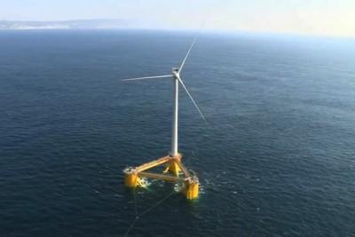 Energía eólica en alta mar
