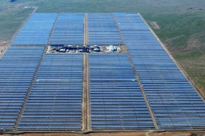 Abengoa commissions its first solar thermal power plant in