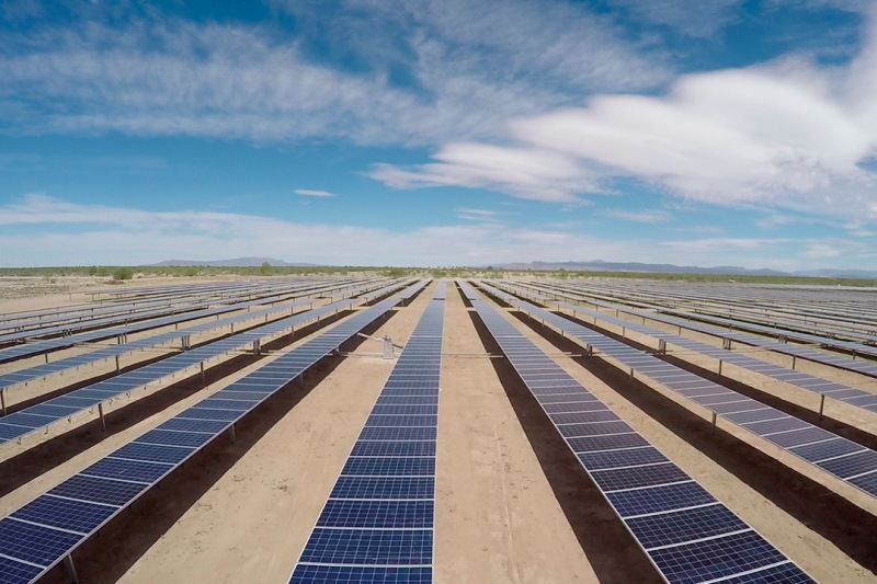 Planta fotovoltaica La Laguna Mexico