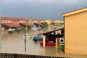 riesgos de inundación por cambio climatico