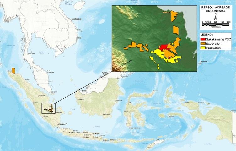 Repsol en Indonesia