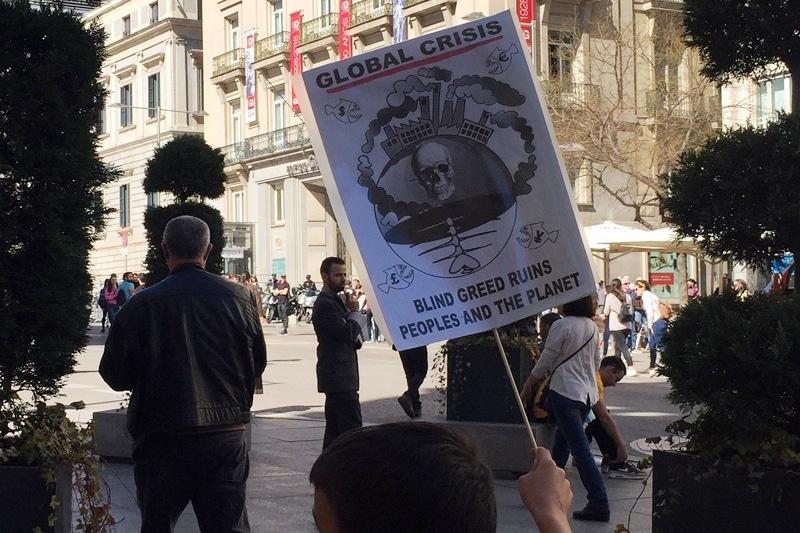 Manifestación 15-M Fridays for Future
