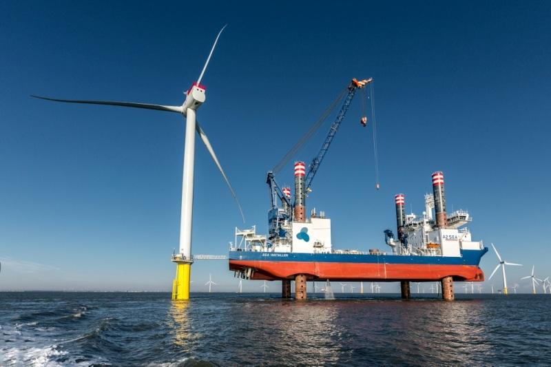 parque eólico marino Arkona Siemens Gamesa