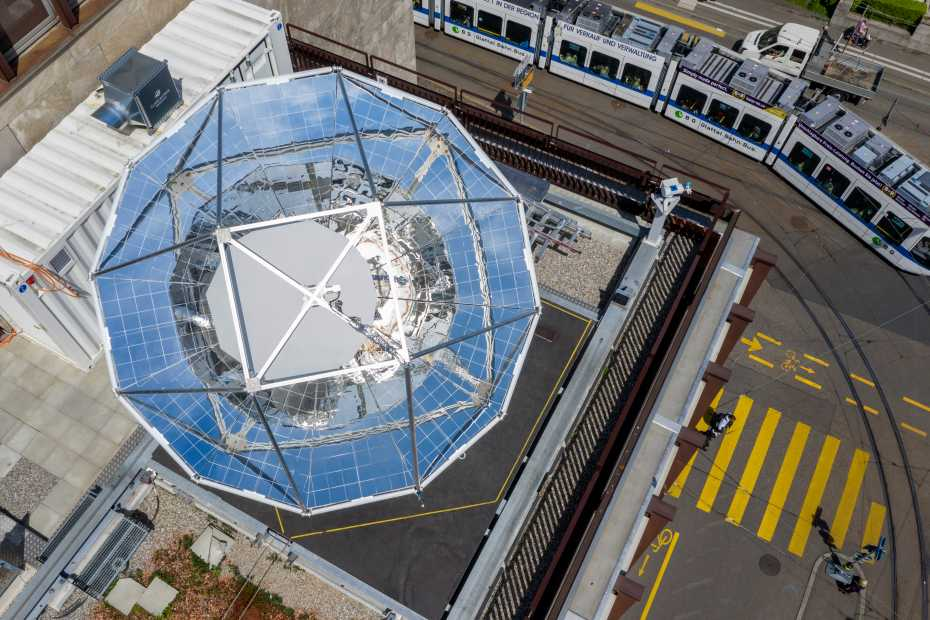 Minirefinería solar ETH Zurich