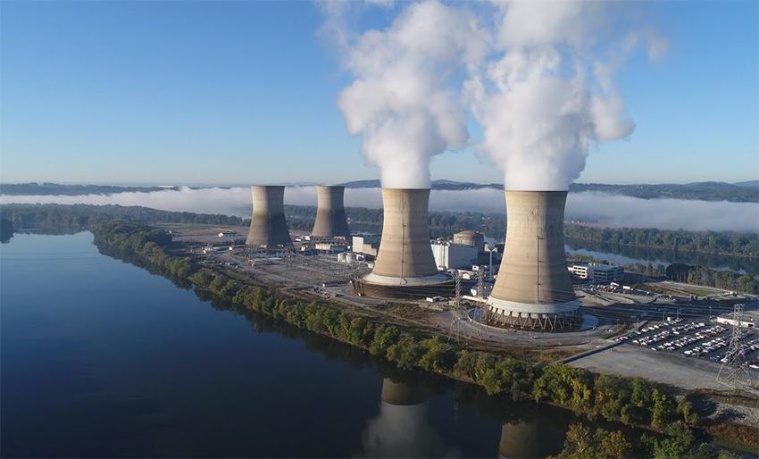 Central nuclear de Three Mile Island. Foto: Comisión Reguladora Nuclear de EE.UU. (NRC).
