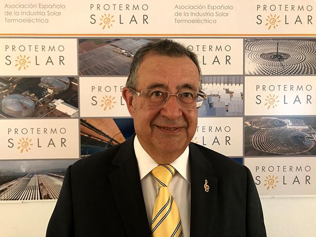 Luis Crespo, presidente de Protermosolar.