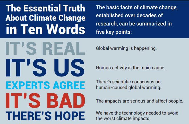 Hechos y verdades innegables que recoge el informe.