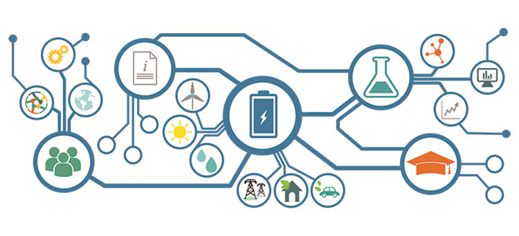 Las baterías de aluminio podrán almacenar energía para cualquier uso. Ilustración: Mu Hammad Abdelhamid.