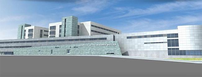 Proyecto: Hospital Vital Álvarez Buylla (Mieres, Asturias).