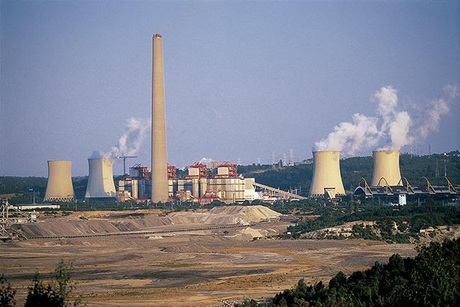 Central térmica de As Pontes (A Coruña). El Plan Futur-e de Endesa tratará de minimizar el impacto de la zona, como de la de Carboneras, sobre el empleo.