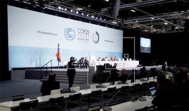 Termina la COP25 sin consenso sobre la reducción de emisiones. Foto: Agencia EFE.