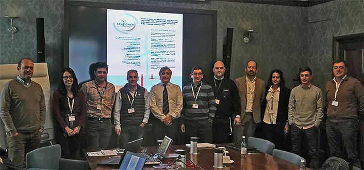 Segunda reunión del consorcio del proyecto SEAPOWER en la sede de SENER.
