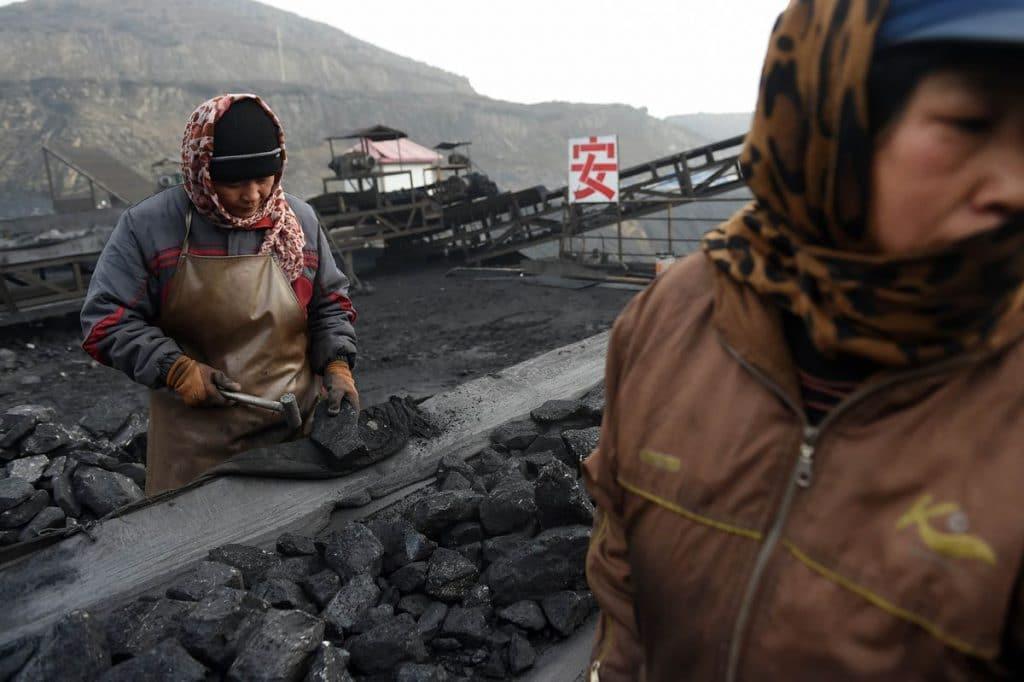 producción de carbón