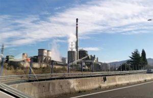 Central térmica de Lada (Langreo, Asturias). Foto: Europa Press.