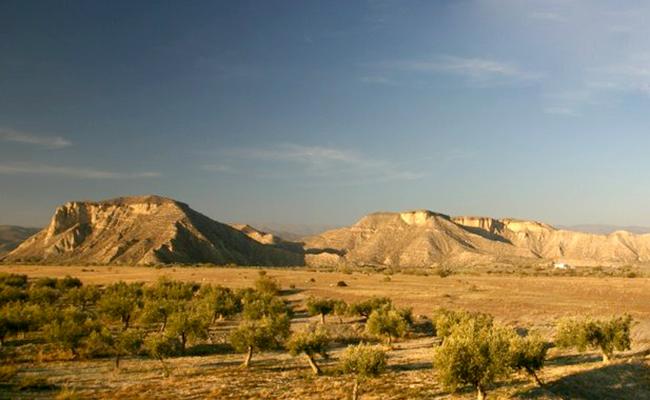 Desierto de Tabernas (Almería).