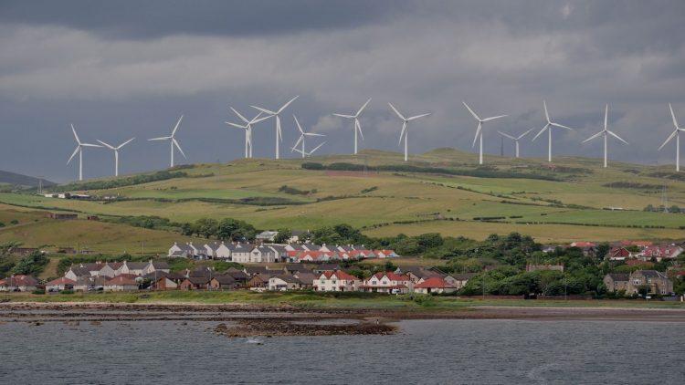 renovables en Escocia
