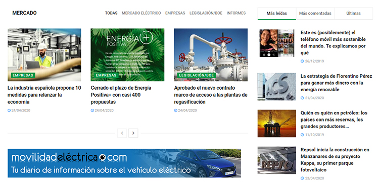 Nuestro objetivo: ofrecer noticias, artículos y opiniones sobre generación de energía y tendencias, a nivel nacional e internacional.