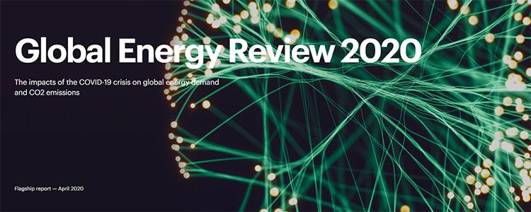 Global Energy Review 2020. Agencia Internacional de la Energía.