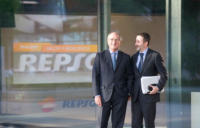 Antonio Brufau y Josu Jon Imaz, presidente y consejero delegado de Repsol.