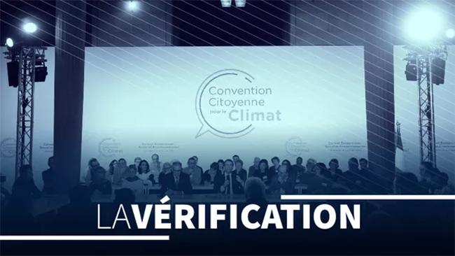 Convención Ciudadana por el Clima. Foto: Le Figaro.