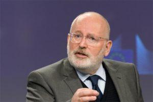Frans Timmermans, vicepresidente de la Comisión Europea. Foto: Comisión Europea.