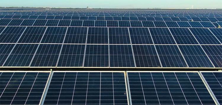 Planta solar de Alcalá de Guadaira.