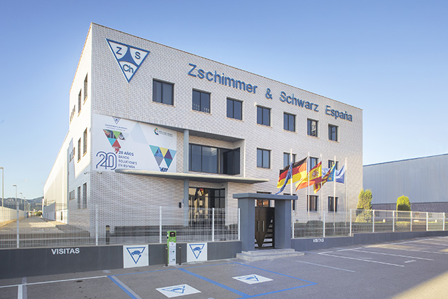 Zschimmer & Schwarz es una empresa de química industrial que tiene su sede en España en Castellón.
