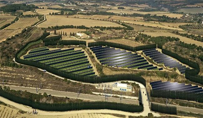 La agrovoltaica puede ser una ayuda para descarbonizar la agricultura. Fotos. Green Concept Management.