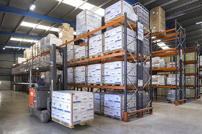 Programa de reciclado y reutilización de envases de Zschimmer & Schwarz España.